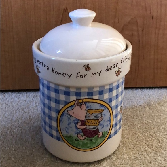 Disney Piglet Treasure Craft Canister Small #4